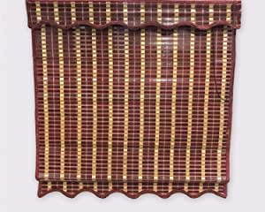 الزهراء ستارة خيزران , متعدد الالوان , 200/160 سم