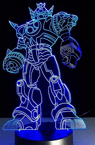 Luz De Noche 3D 3D Cool Optimus Prime Character Boy ...