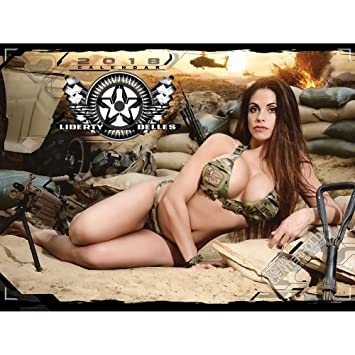 Sexy calendar for troops