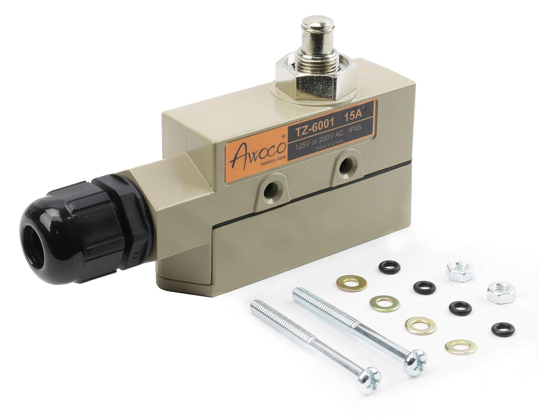 Awoco 高耐久 ドア マイクロ スイッチ エアカーテン Awoco、Welbon、Pioneer、Maxwell、MARSから。 B010KYJ5E2  TZ-6001