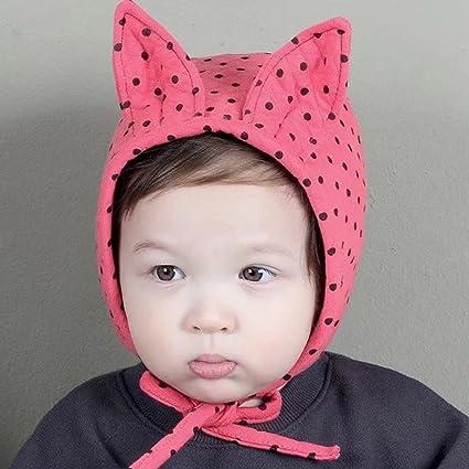 Amazon Com Alivego Baby Boy Girl Hair Ball Rabbit Ear Polka Dot