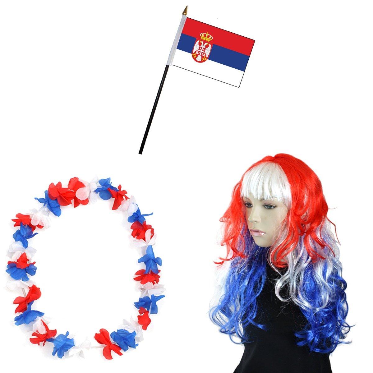 Sonia Originelli Fahnenkette Europa Girlande 9 Meter 24 L/änder Fan Fu/ßball