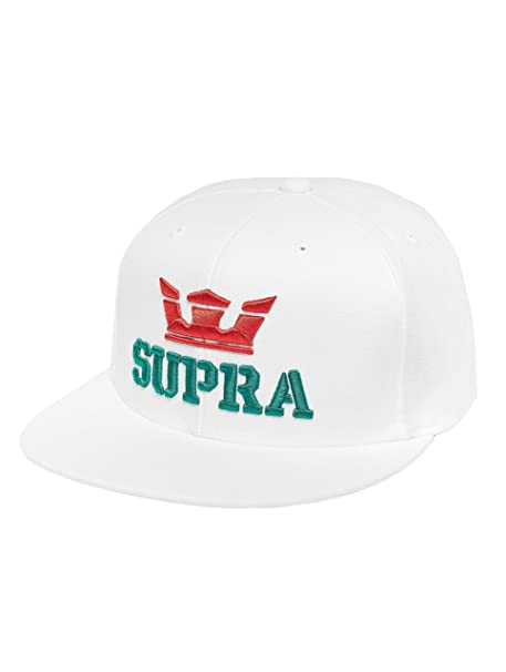 Supra Hombres Gorras/Gorra Snapback Above Snap Back Hat: Amazon.es ...