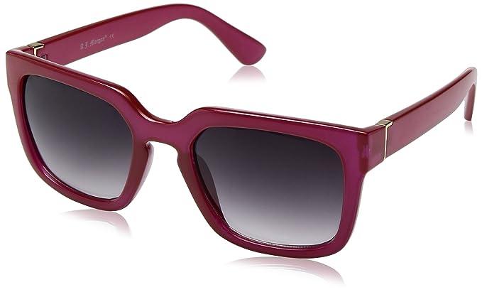 d9102f03a7 Amazon.com  A.J. Morgan Women s Active Rectangular Sunglasses