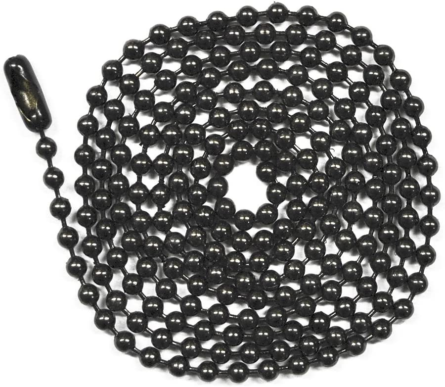 Black Cable Chain 3x2.5 By The Foot 20603
