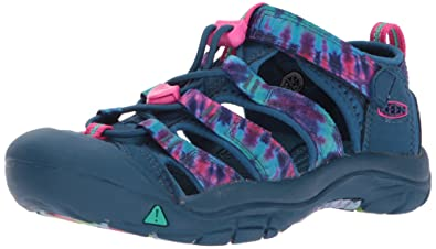 KEEN Toddler (1-4 Years) Newport H2 Navy Tie Dye Sandal - 4