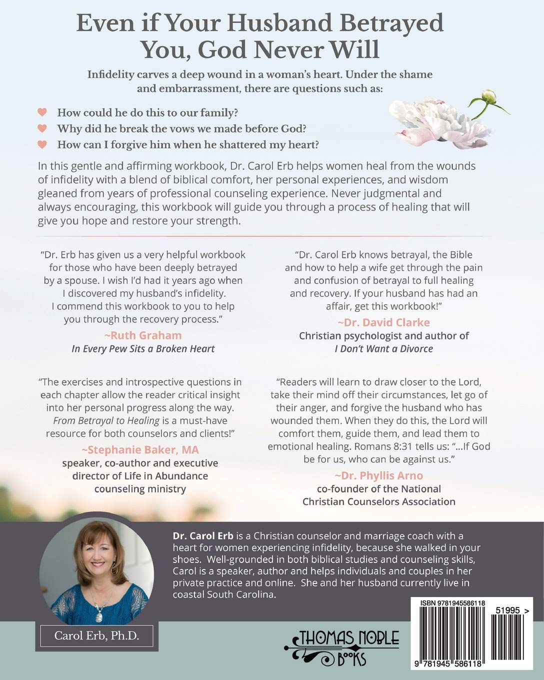 From Betrayal to Healing: Begin healing from your husband's affair