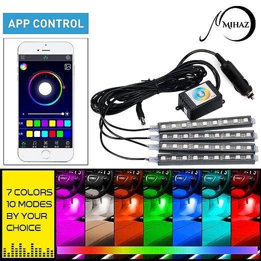 2 opinioni per MIHAZ 36 LED 16 colori 4 pezzi Luce