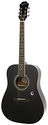 Epiphone DR-100 (Dreadought), Ebony
