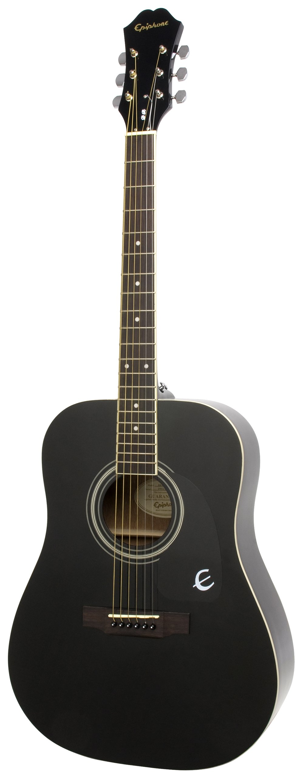 Epiphone DR-100 Acoustic Guitar, Ebony by Epiphone