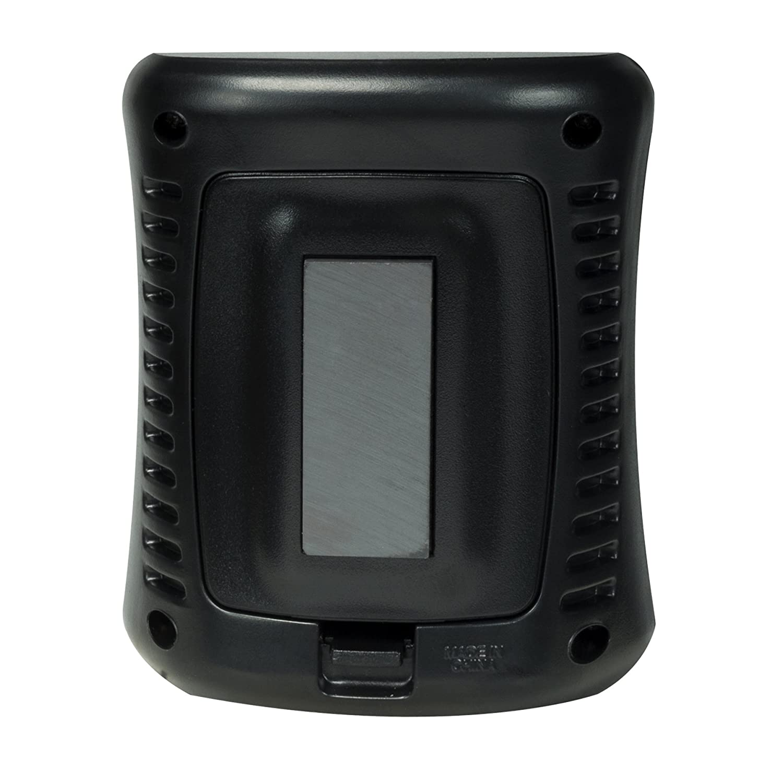 AcuRite 00325 Indoor Thermometer /& Hygrometer with Humidity Gauge 0.3, Black