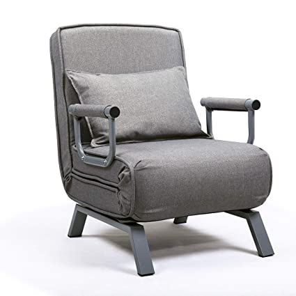 Awe Inspiring Amazon Com Cypressshop Gray Sofa Bed Sleeper Top Flip Chair Pabps2019 Chair Design Images Pabps2019Com