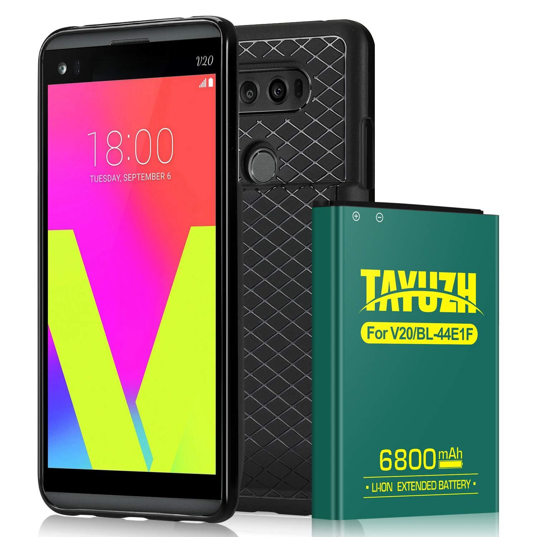 Bateria Celular LG V20   Tayuzh 6800mah Li Ion LG V20 Extended Con Back Cover & Soft Tpu Case Para LG V20 Bl 44e1f H910