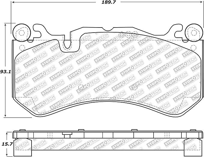 BECKX 084-4311 brake; chassis BECKARNLEY