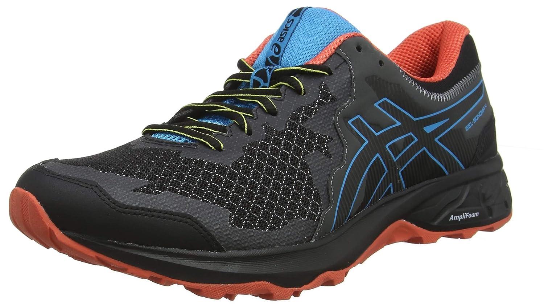 Black (Black Island bluee 001) ASICS Men's Gel-Sonoma 4 Running shoes