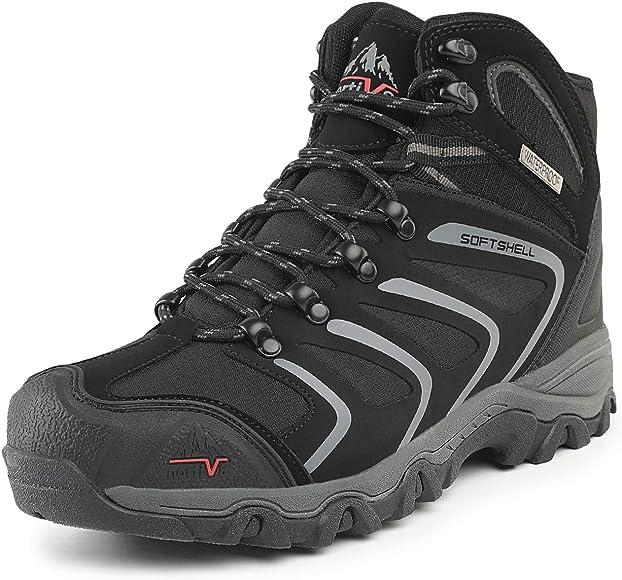NORTIV 8 Men's 160448 Black Grey Ankle