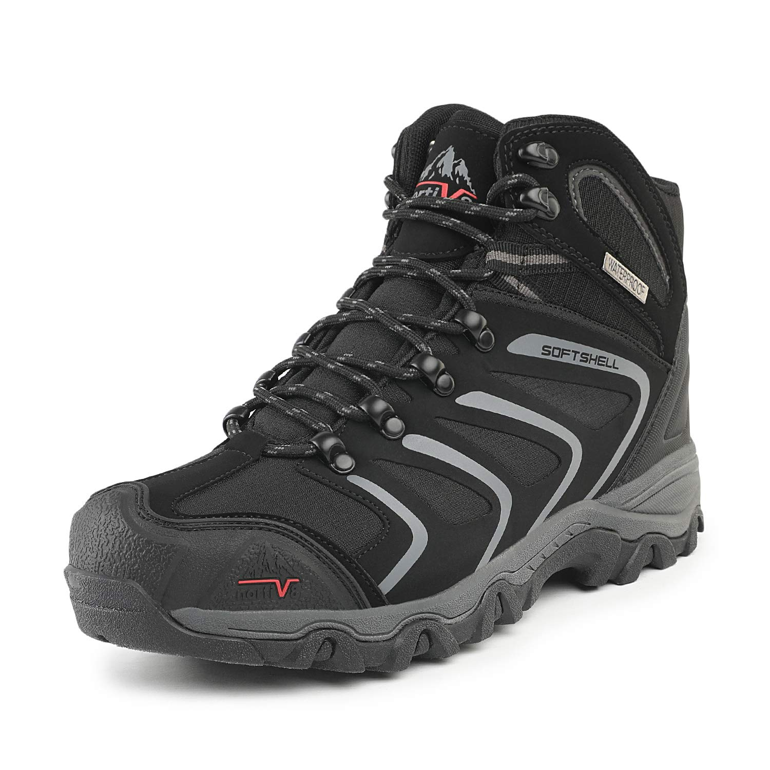 a9ed9d917f2c3 NORTIV 8 Men's Low Top Waterproof Hiking Boots Outdoor Lightweight Shoes  Backpacking Trekking Trails