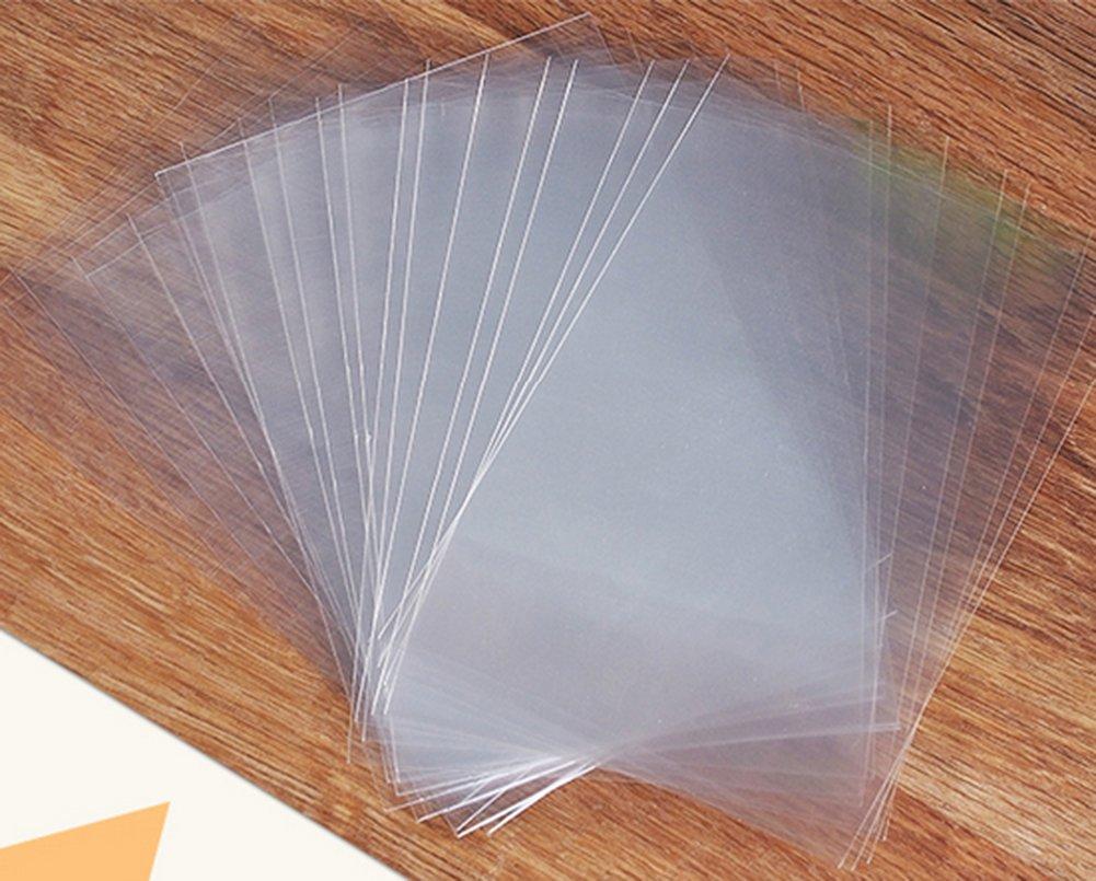 100pcs Chytaii Bolsas Embalaje Transparente Bolsa de Chupachup Caramelo Bolsa Dulces Piruletas Bolsa alimento Bolsa de Comida 10 15cm