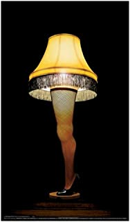 A Christmas Story 20 inch Leg Lamp Prop Replica by NECA - Desk ...