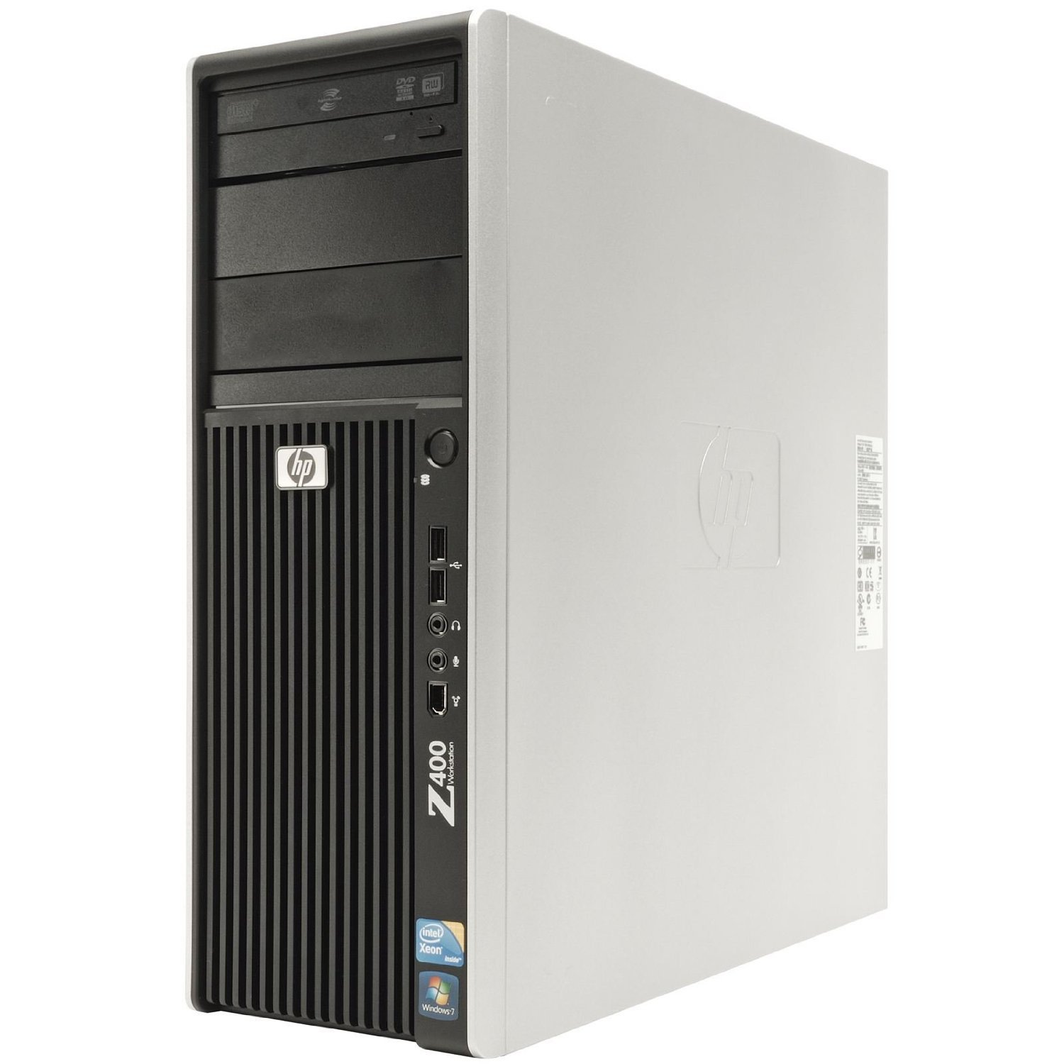 HP Z400 Workstation 6 CORE Computer -HP Z400 Workstation, Intel Xeon W3670  3 2GHz Six Core CPU, 24GB Ram, New 250 SSD + New 2TB HDD, Nvidia Quadro