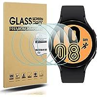 Diruite 4-pack för Samsung Galaxy Watch 4 44 mm skärmskydd härdat glas för Samsung Galaxy Watch 4 44 mm smartklocka [2…