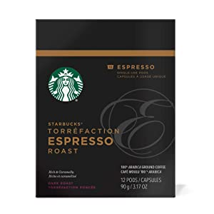Starbucks Verismo Espresso Roast Pods 12