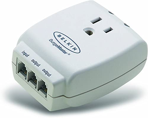Belkin Single Outlet MasterCube Wall-Mount Surge Protector, 1045 Joules F9H120-CW
