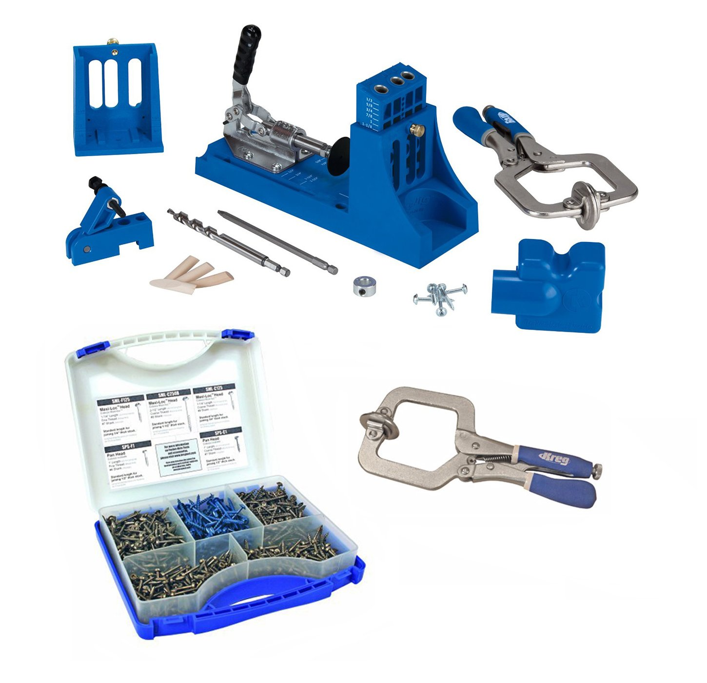 Kreg K4MS K4 Master System With Screw Kit & Premium Face Clamp