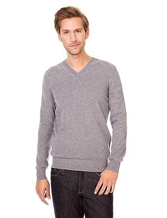 sélectionner pour plus récent styles de mode meilleur site web Monoprix HOMME - Pull col en V en cachemire - Homme - Taille ...