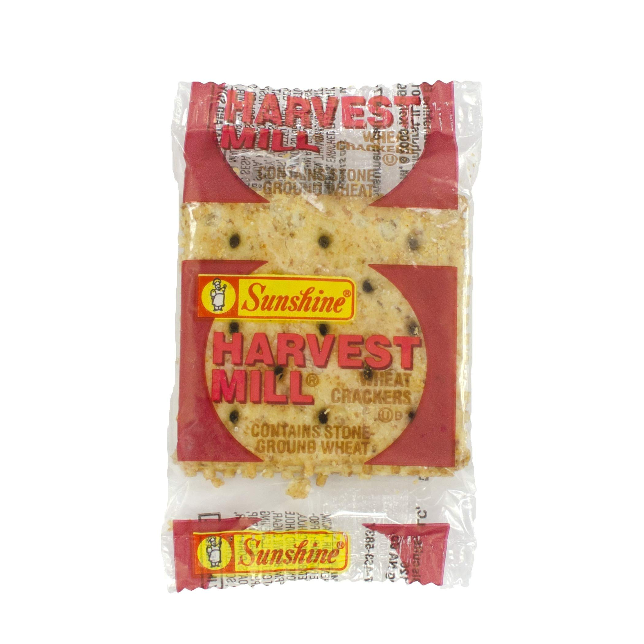 Kellogg's Sunshine Harvest Mill Wheat Crackers, 0.25 Ounce(Pack of 300) by Kellogg's