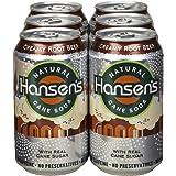 Hansen's Creamy Root Beer, Cans, 12 oz, 6 Count, 4 Pack