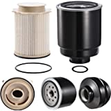 ConPus Diesel Fuel Filter Water Separator set for 2013 2014 2015 2016 2017 Dodge Ram 6.7L 2500 3500 4500 5500 6.7L…