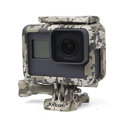 SHOOT Estándar Marco de Montaje Caso de Protección para GoPro Hero 5 Cámara de Acción