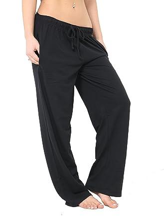 cc13e0a085776d FASHION INSTYLE New Women's Ladies Girl Designer Pyjama Bottoms Lounge Pants  Trousers Night PJS (SM