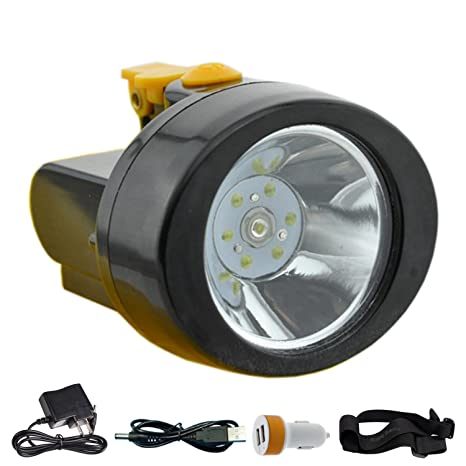 Amazon Com Acmenovo Led Waterproof Headlamp 2800mah Lightweight