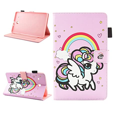 custodia tab e samsung 9.6 unicorni