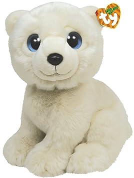 Ty 7175012 Wild Wild Best - Oso polar de peluche Iceberg, 33 cm [Importado de Alemania]: Amazon.es: Juguetes y juegos