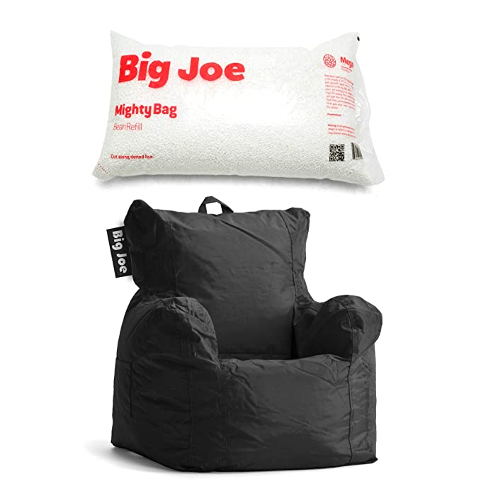 Amazon.com: Big Joe Cuddle – Puf de silla en elástico Limo ...