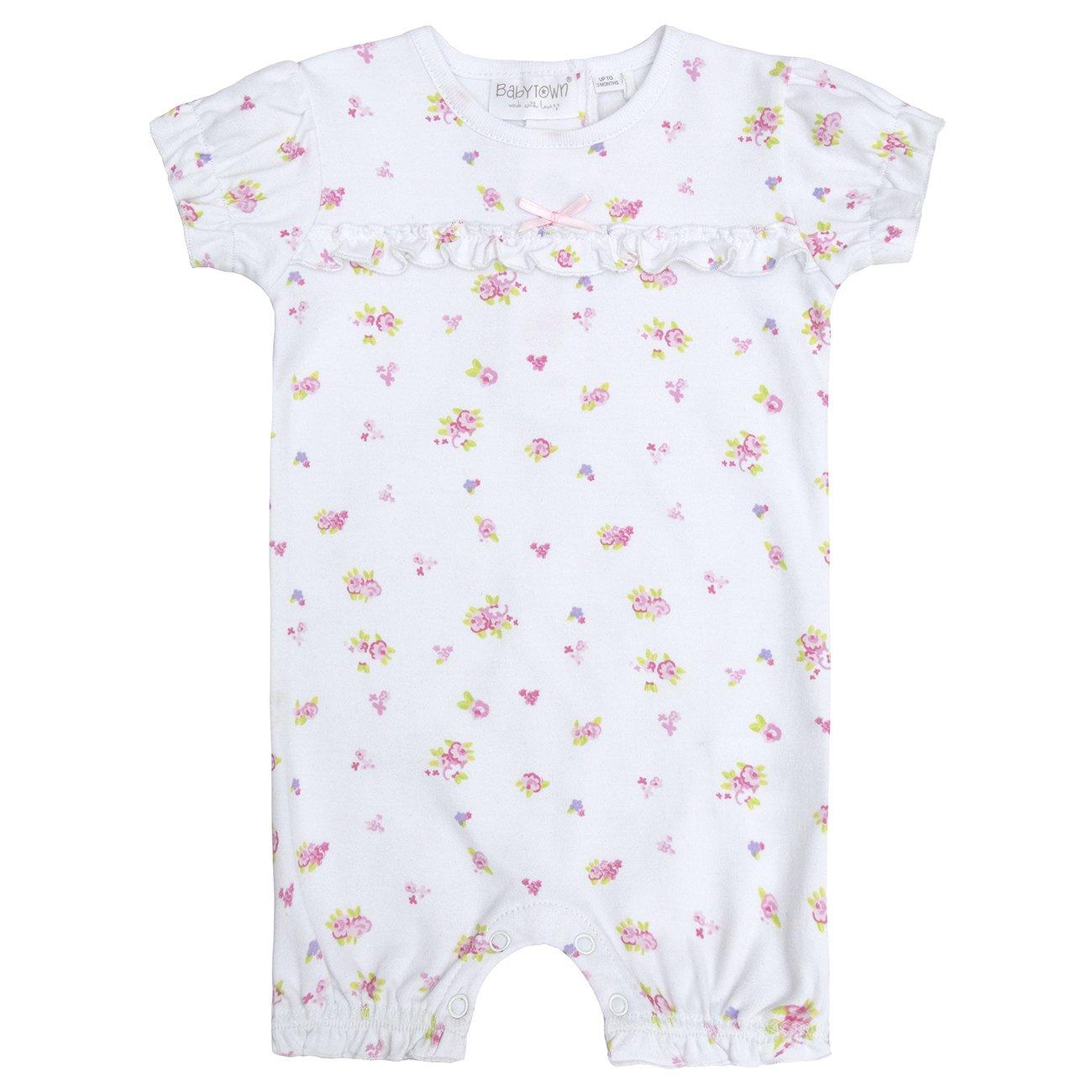 BABY TOWN Babytown Baby Girls Romper Suit