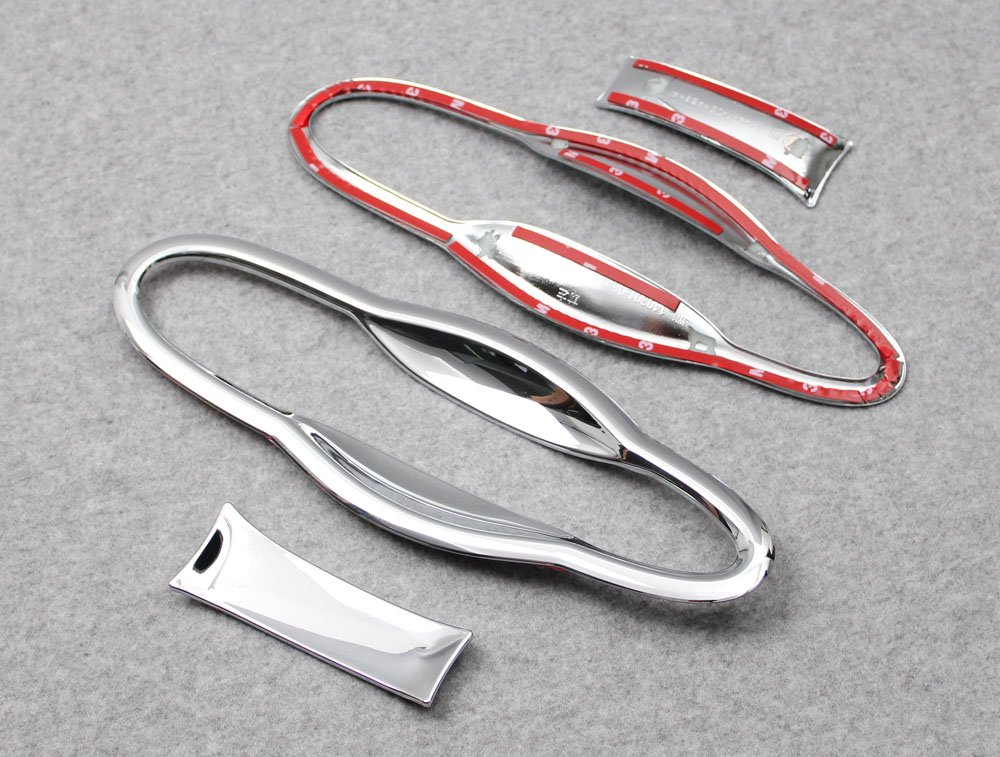 Generic ABS Chrome Door Handle Bowl Cover Trims Fit For Jeep Cherokee 2014 2015 2016 2017 Kate Wenzhou automobile supplies factory