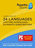 Rosetta Stone 24 Month Online Subscription + [BONUS] Lifetime Download