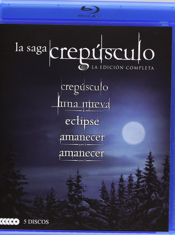 Pack Saga Crepusculo (Bd) [Blu-ray]: Amazon.es: Kristen Stewart ...