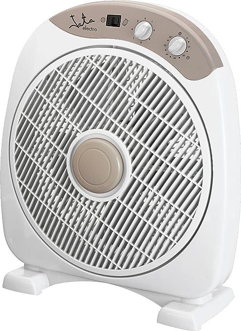 Jata VS3010 Ventilador de Suelo con Temporizador de 60 Minutos, 40 ...