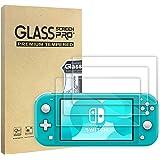 WD&CD 3 Pack Protectores de Pantalla Compatible para Nintendo Switch Lite 2019【Garantía de por Vida】, Película Protectora de