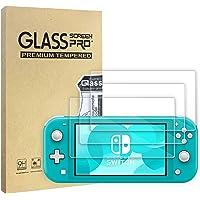 WD&CD 3 Pack Protectores de Pantalla Compatible para Nintendo Switch Lite 2019【Garantía de por Vida】, Película…