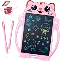 LCD-schrijfbord meisjes speelgoed - geschenken voor meisjes kleurrijk schilderbord kinderen, elektronisch 8,5 inch…