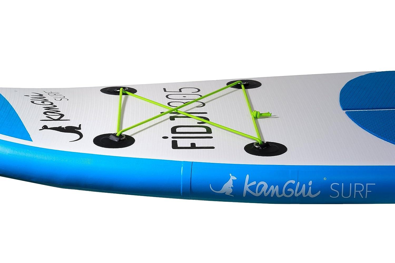 Pompe Haute Pression Leash pagaie Sac /à Dos kit de r/éparation- Fidji Kangui Stand up Paddle Sup Gonflable