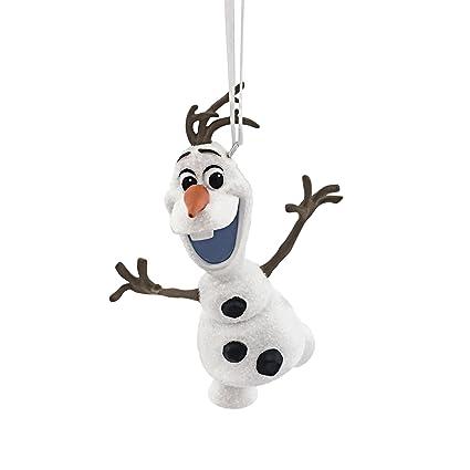 Amazon.com: Hallmark Disney Frozen Olaf Skating Christmas Ornament ...