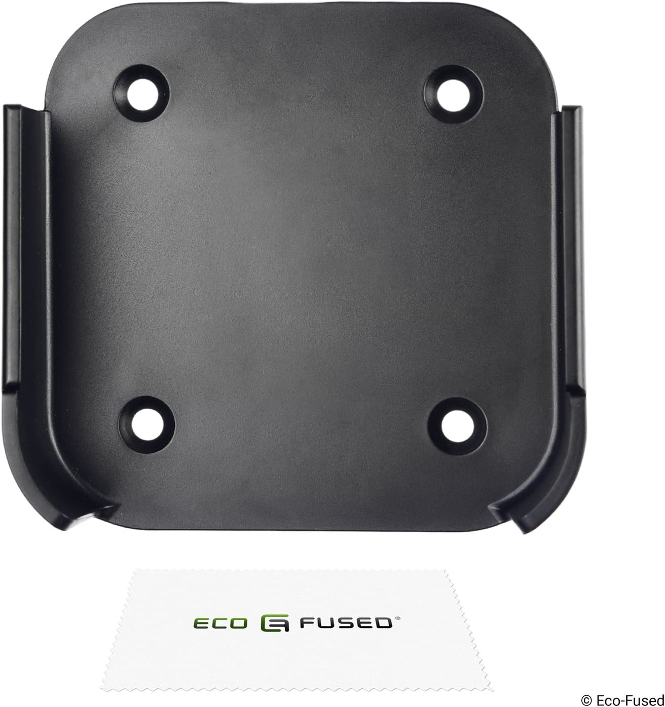 Eco-Fused Wall Mount Compatible with Apple TV 4 / Apple TV 4K - Holder Bracket Frame Easy to Install - Simply Attach, Insert and Connect