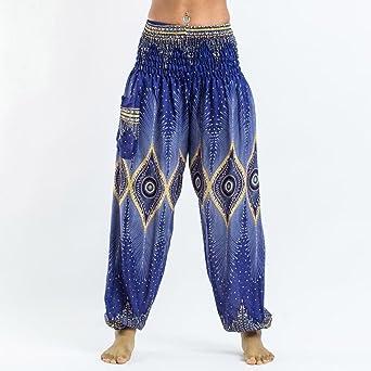Yoga Pantalones Mujer Deportivas Trousers Boho Festival Hippy Leggins Polainas para Mujer EláSticos Pilates Fitness Delantal Hippy Estilo Estampado de ...
